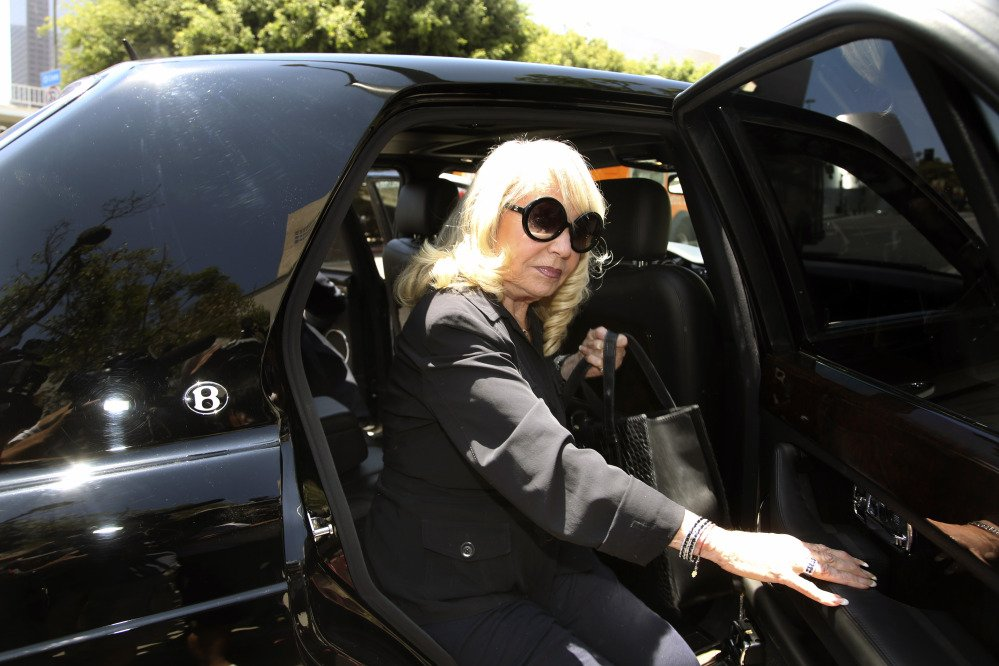 Shelly Sterling, shown arriving at Los Angeles County Superior Court on Tuesday, testified again on Thursday, defending the agreement she made with former Microsoft CEO Steve Ballmer to sell Clippers for $2 billion.