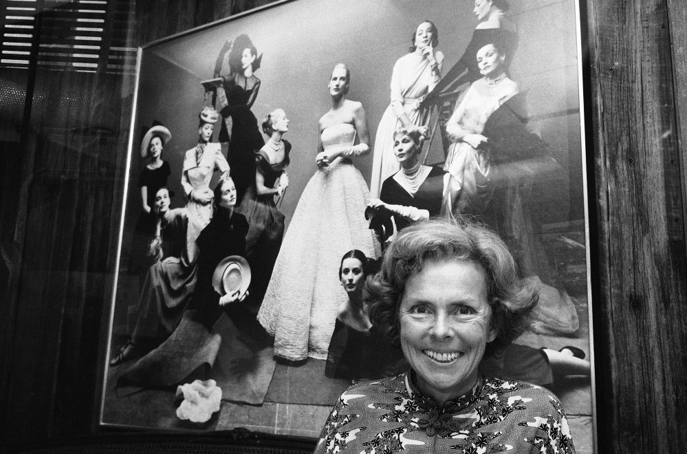 Eileen Ford, seen in 1977 at Ford Model Agency in New York, believed a model's charisma was as vital as her looks as she launched the careers of Candice Bergen, Lauren Hutton, Christie Brinkley, Kim Basinger and Brooke Shields.