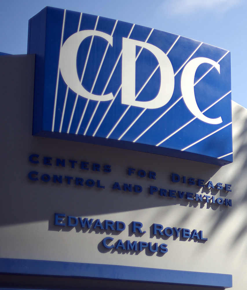 A sign marks the Centers for Disease Control and Prevention in Atlanta, Ga. The CDC is shuttering two labs because of safety problems.