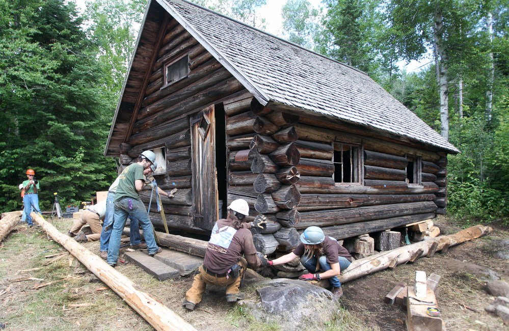 Restoration Of White Mountain Forest Cabin Gets Old School