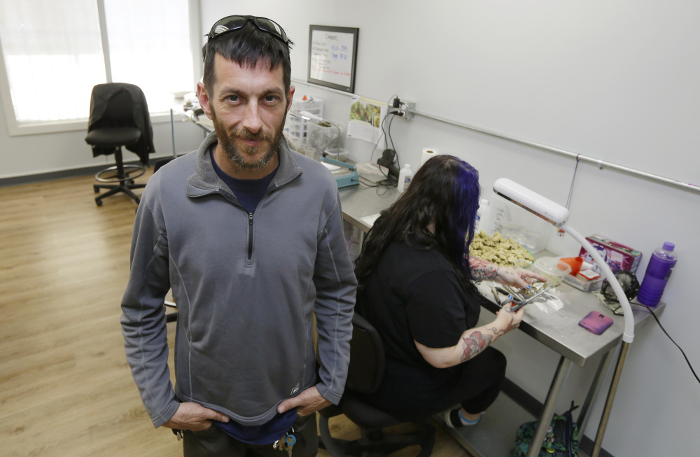 Evan Cox, co-founder of marijuana delivery company Winterlife, began his business by advertising on Craigslist, and now he has around 50 full- and part-time employees.