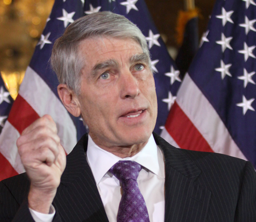 Sen. Mark Udall, D-Colo., pushed legislation that would counter last month's court ruling and reinstate free contraception for women who are on health insurance plans of objecting companies.
