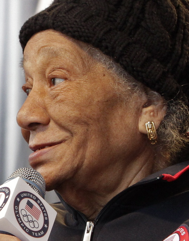 Alice Coachman amassed 10 consecutive national titiles in the high jump, starting in 1939. She died Monday. The Associated Press