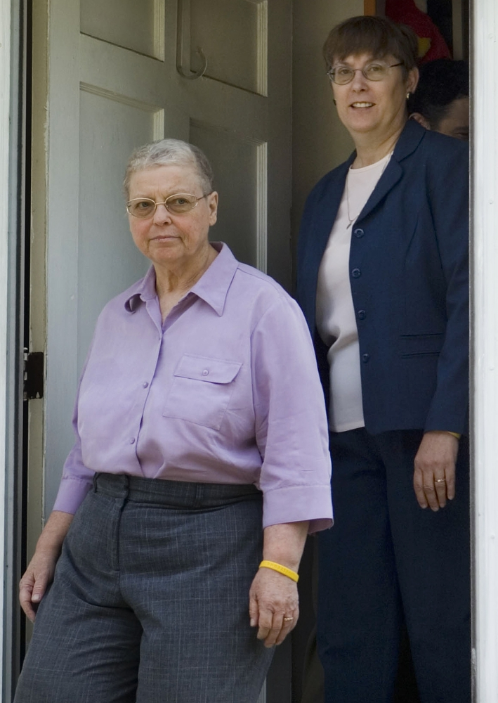 Margaret Mueller, right, died in 2009 a few years after a health problem was misdiagnosed, and her partner, Charlotte Stacey, was denied damages for loss of spousal consortium.
