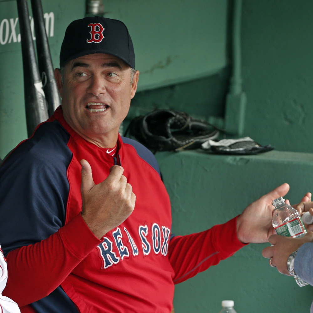 Red Sox Manager John Farrell notes that early in the second half, his team has a series of games against division opponents, which could bring Boston back into the race.