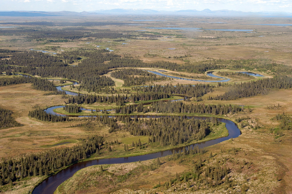 A stream flowing through the Bristol Bay, Alaska, watershed is shown in a 2003 photo provided by the Bureau of Land Management. The EPA's new and severe restrictions are seen as likely to block the massive Pebble Mine project that has been proposed for the area.