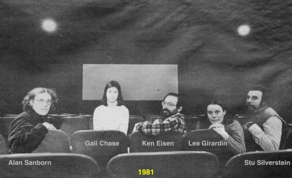 The roots of the Maine International Film Festival are in the creation of the Railroad Square Cinema, created in 1978 by Alan Sanborn, Gail Chase, Ken Eisen, Lea Girardin and Stu Silverstein.