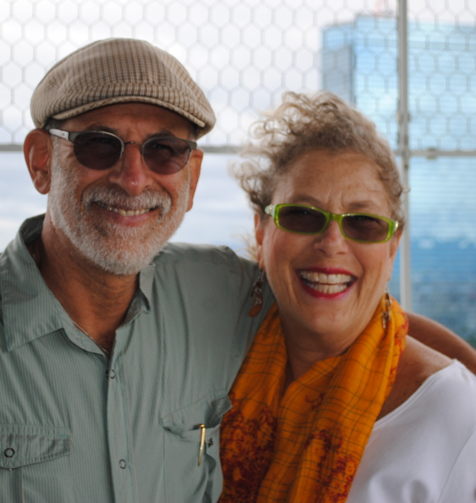 Peaks Island residents Steve Schuit and his wife, Marsha Greenberg, in South Korea, where they are professors at Yeungnam University. Schuit will give a talk Thursday at Portland Public Library's Peaks Island Branch.