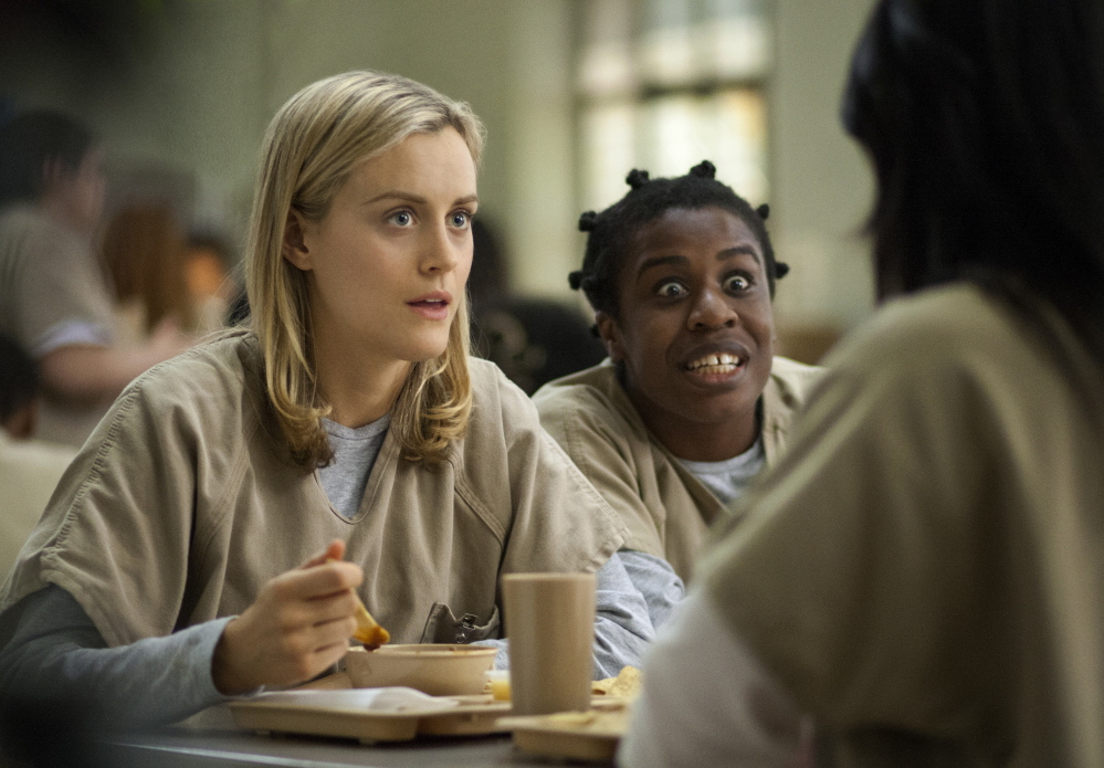 "Shows like the second season of ""Orange Is the New Black"" helped Netflix draw an additional 570,000 U.S. subscribers during the second quarter, the company announced Monday."