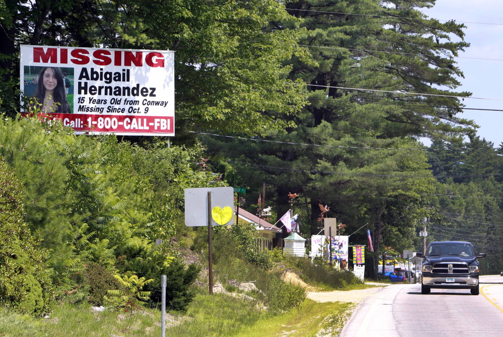 Abigail Hernandez's disappearance last fall shook up her hometown in New Hampshire's White Mountains, and while Conway residents are relieved she's safe, they want an explanation that so far has not been offered by her family or from authorities.