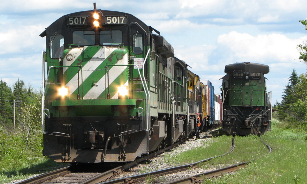 Montreal Maine & Atlantic Railway engine 5017 apparently won't be among the more than 30 locomotives scheduled to be sold at auction on Aug. 5.