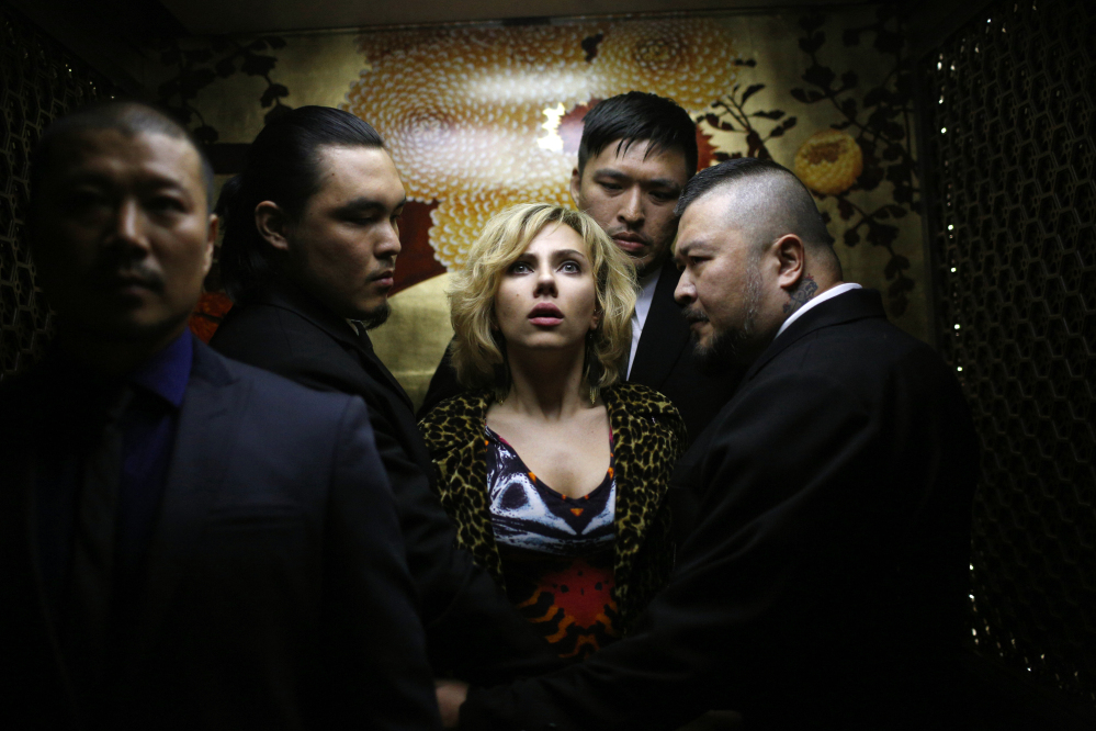This image released by Universal Pictures shows Scarlett Johansson in a scene from