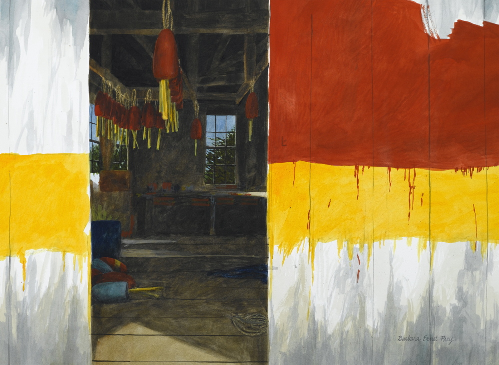 """Sanctum"" by Barbara Ernst Prey is in the ""American Contemporary"" exhibit at Blue Water Fine Arts in Port Clyde."