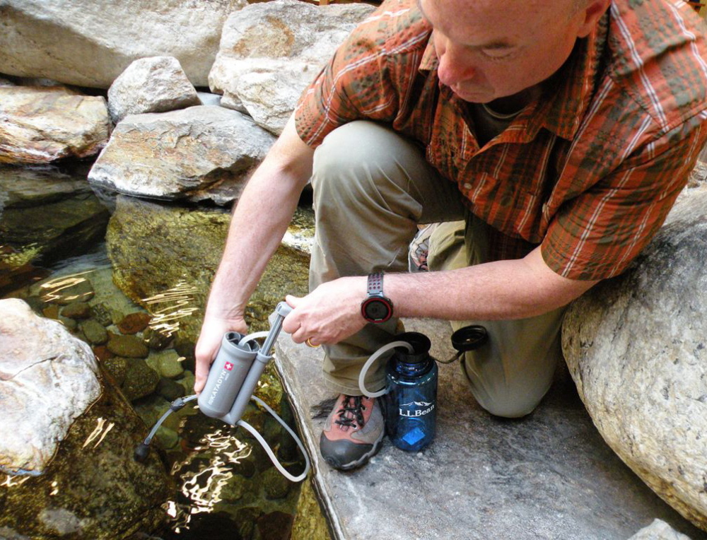 There's no way to assume any Maine water is pristine, so hikers are well-advised to take any number of precautions before drinking from a stream or river.