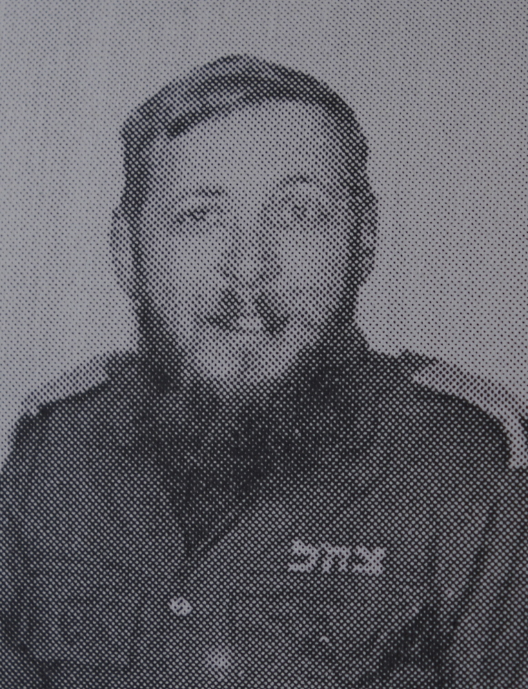 This is a copied photo from Don Gellers' Israeli military ID. The Passamaquoddy's former attorney fled to Israel in 1971 to avoid a prison sentence. He now goes by his Hebrew name: Tuvia Ben-Shmuel-Yosef.