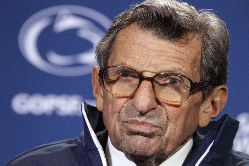 Joe Paterno's legacy is marred by an aide's scandal.