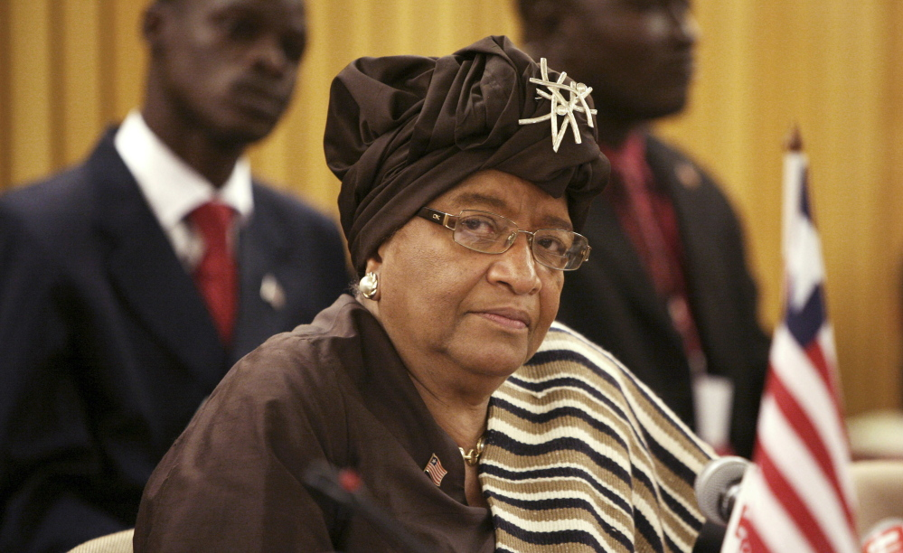 "President Ellen Johnson-Sirleaf issues a warning: ""My fellow Liberians, Ebola is real, Ebola is contagious and Ebola kills ... so keep yourselves and your loved ones safe."""