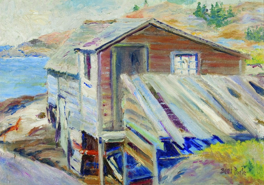 "Bert Poole's ""Hermitage2"" Courtesy The Monhegan Museum"