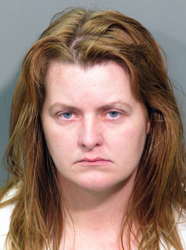 This undated image released by the Riverside County (Calif.) Sheriff's Department shows Krissy Lynn Werntz, who was indicted by a Riverside County grand jury in  September, along with her boyfriend, Jason Michael Hann, and accused of murdering their 2-month-old daughter then putting her in a trash bag and driving her body around the country.
