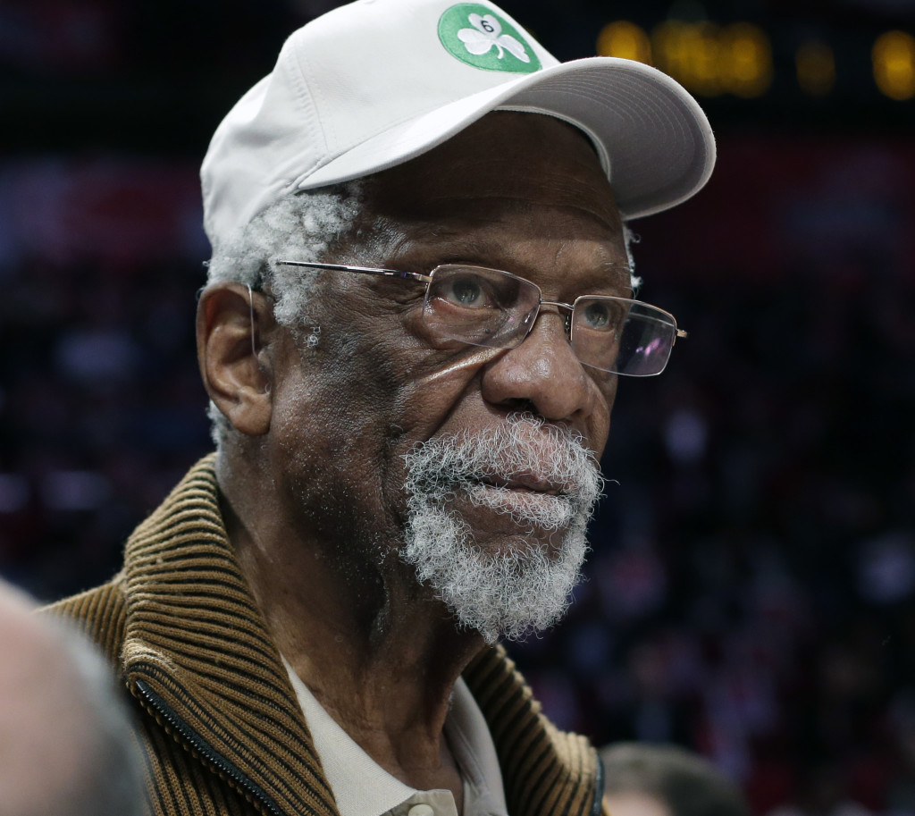 The Boston Celtics said Hall of Famer Bill Russell, 80, felt faint after falling Thursday morning at the Hyatt Regency resort in Incline Village, Nevada, but was planning to return home Thursday evening.