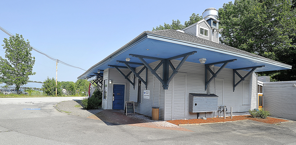 48 Elm St., now the Sebago Brewing Co., in Gorham on July 2, 2014.