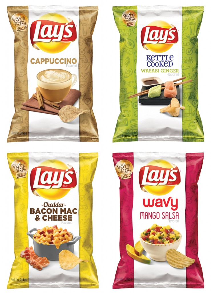 The four finalists for Frito-Lay's second-annual