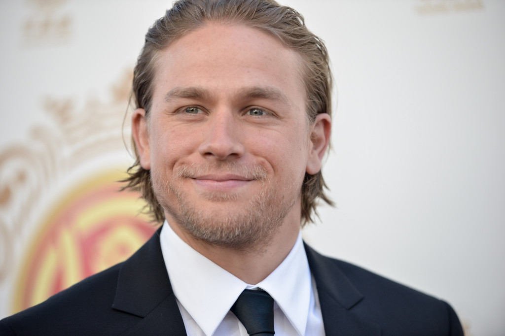 "Charlie Hunnam was originally cast in """"Fifty Shades of Grey"" but his time constraints prevented him from taking the role."""