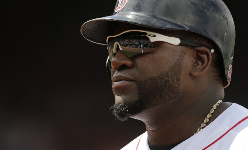 Boston Red Sox designated hitter David Ortiz. The Associated Press