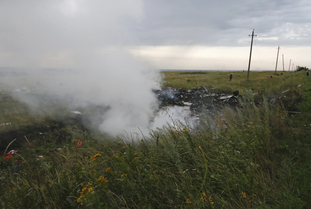 The Malaysian airliner MH-17 crashed in eastern Ukraine on Thursday, killing all 295 people aboard and sharply raising stakes in a conflict between Kiev and pro-Moscow rebels in which Russia and the West back opposing sides.
