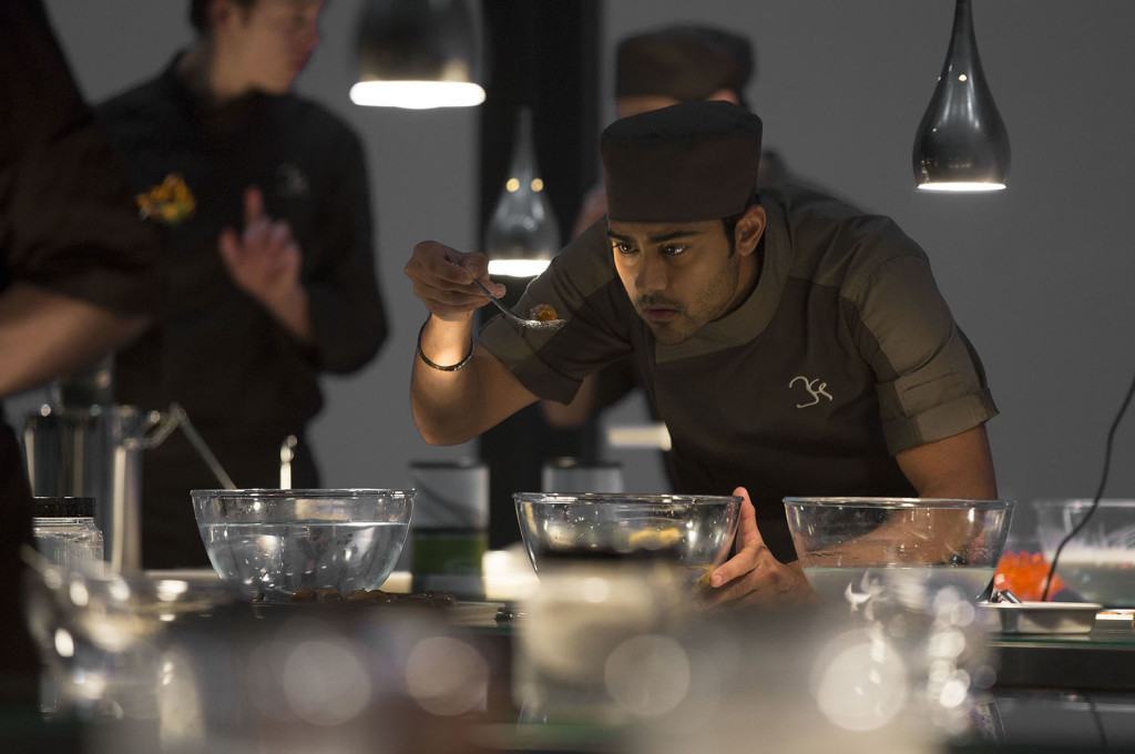 "Manish Dayal is Hassan Kadam in DreamWorks Pictures' film ""The Hundred-Foot Journey,"" one of a number of recent culinary-based movies."