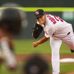 Left-hander Eduardo Rodriguez, 21, is putting up crazy numbers for the Portland Sea Dogs since the Red Sox acquired him from the Baltimore Orioles for reliever Andrew Miller.