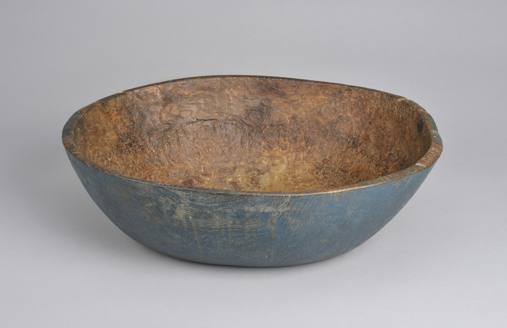 Photo credit: Alan LaValle   Wooden Bowl. Collection of the Shaker Museum| Mount Lebanon, New Lebanon, New York.