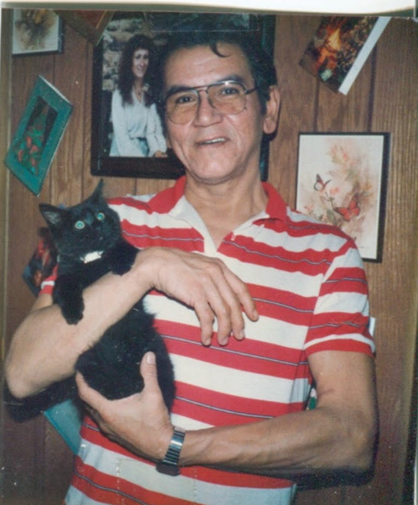 Peter Francis Jr. in the mid-1980s.