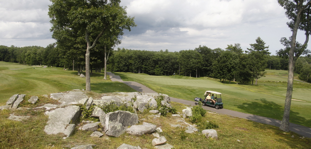 Wonder why the course is called The Ledges? Well … Originally it figured to be called York Highlands, but it seemed if somebody had to be found during the building process they were at, well, the ledges. And there are plenty of ledges throughout the 18 holes. Jill Brady/Staff Photographer