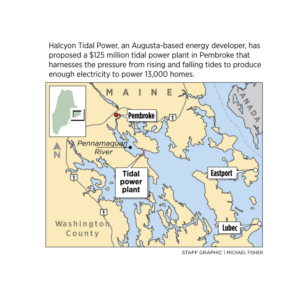 Tidal power company seeks support for Washington County venture (8/5/14)