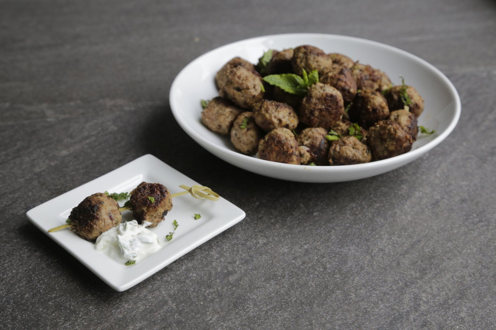 Gluten free Moroccon almond and lamb meatballs is one recipe in Lisa Howard's new cookbook,
