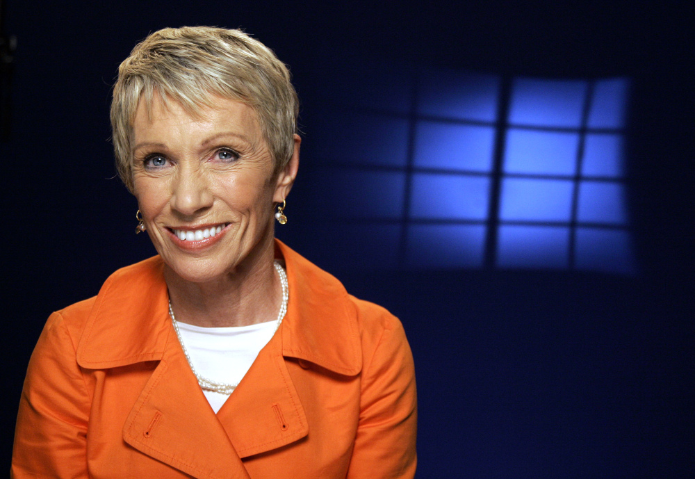 "TV personality Barbara Corcoran is one of the investors on the ABC program ""Shark Tank."""