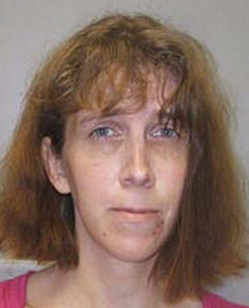 Booking photograph of suspect held in an Ohio jail who refuses to identify herself. Police say the woman may have ties to Kennebec County, and has tried to disguise her appearance and burn off her fingerprints. Contributed photo