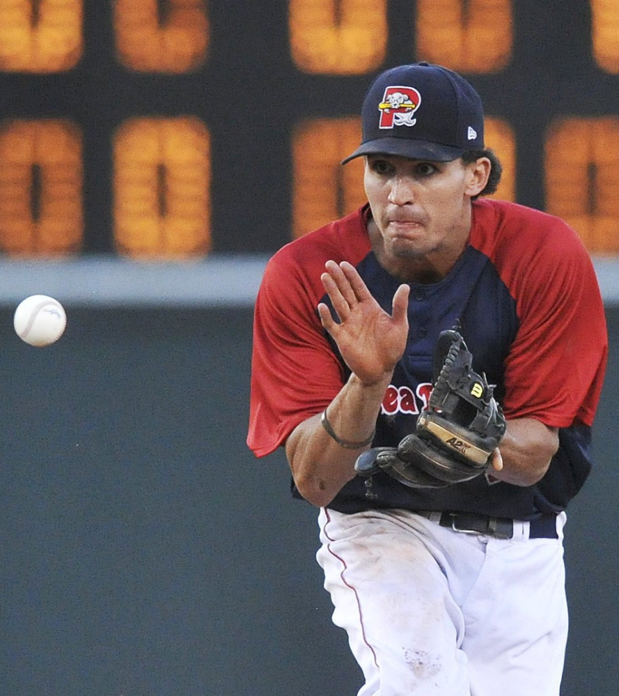 Derrik Gibson always has been highly regarded by the Red Sox for his defense, but his hitting this season earned him a promotion to Triple-A Pawtucket.