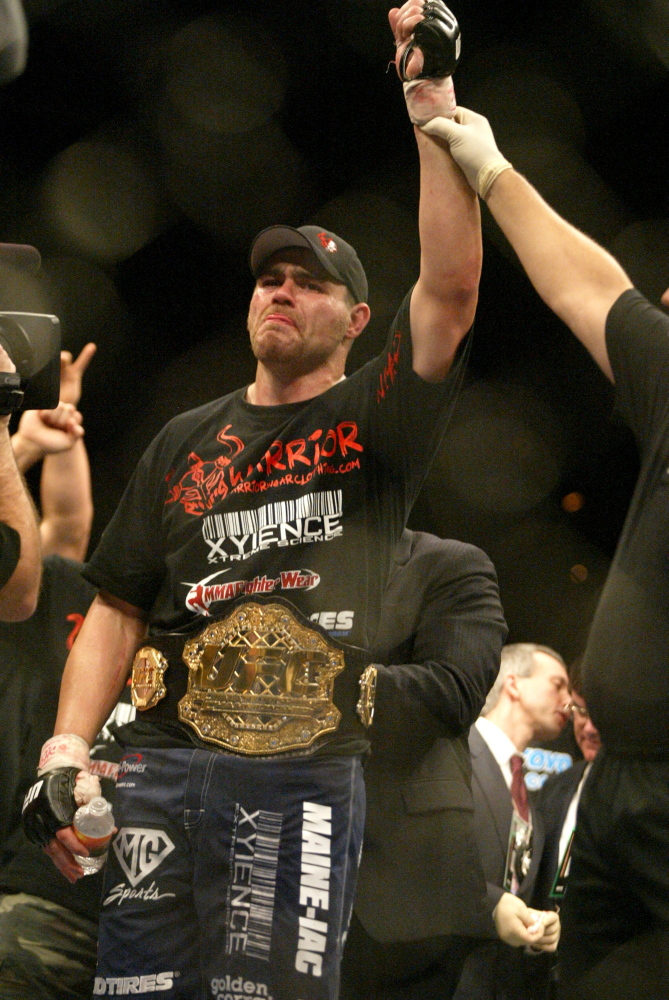 Tim Sylvia of Ellsworth had more than his share of success in UFC, twice winning the heavyweight title. Now he fights for a Maine-based group.