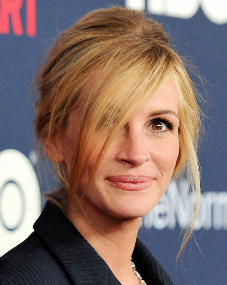"Julia Roberts is nominated for an Emmy for her role in ""The Normal Heart."""