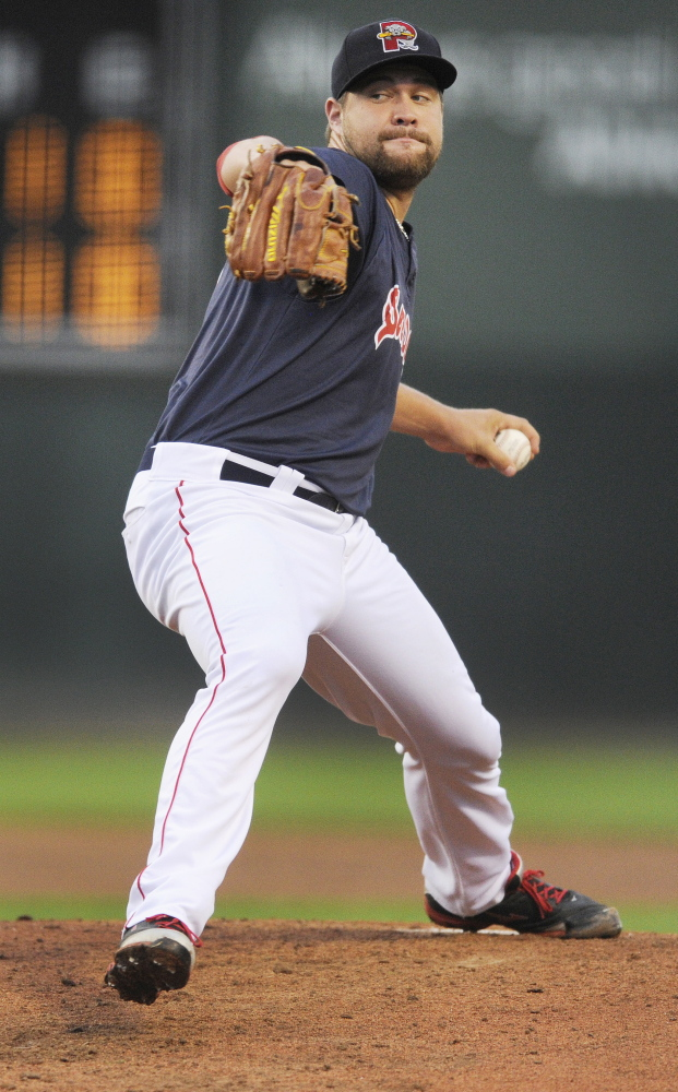 Brian Johnson has become the ace of the Portland Sea Dogs' staff. On Tuesday, he pitched a four-hitter for six innings, but didn't get a win because the bullpen faltered in the late innings. Johnson leads the Eastern League with a 1.87 ERA.