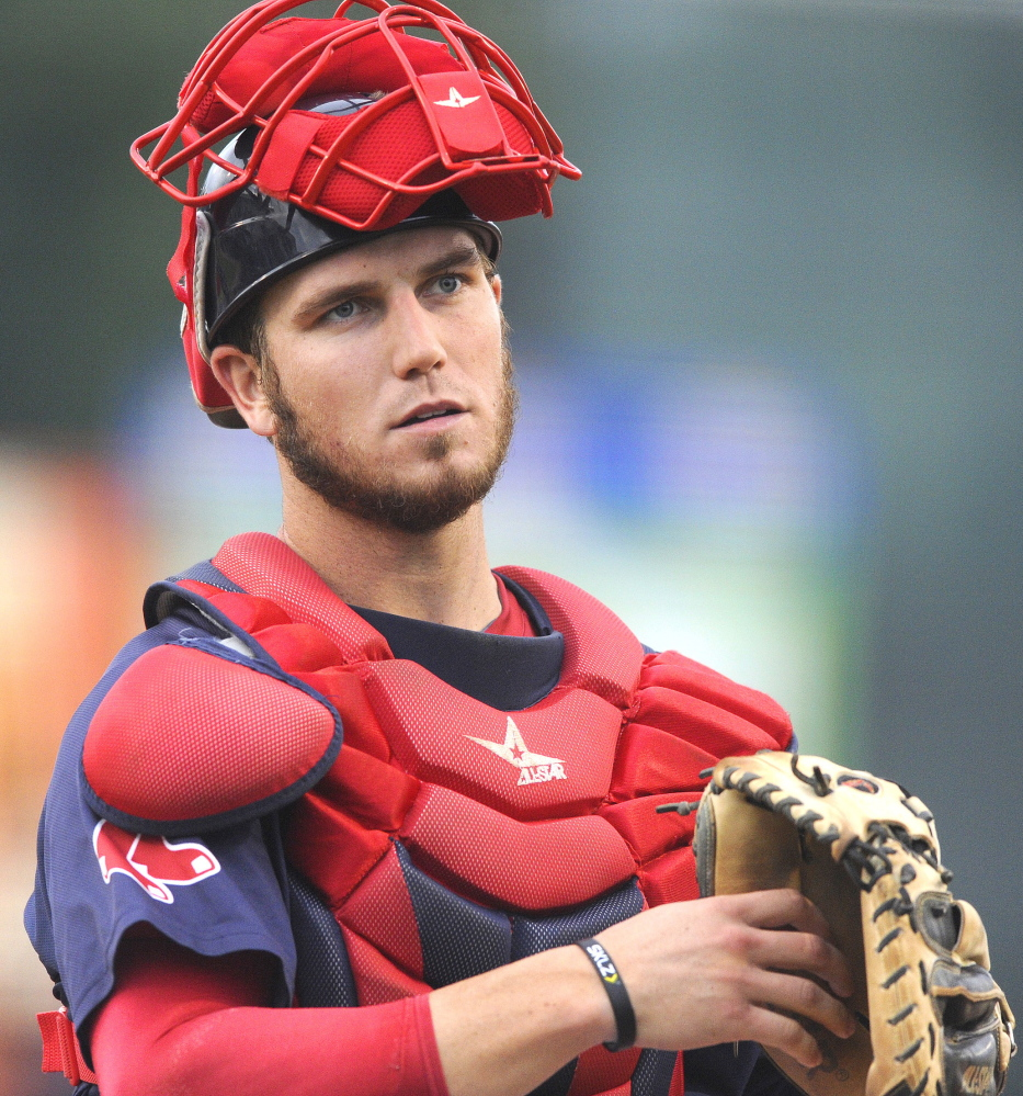 Carson Blair was recently called up to Portland from Class A Salem, where he was batting .261 with nine home runs. He will share catching duties with Michael Brenly.