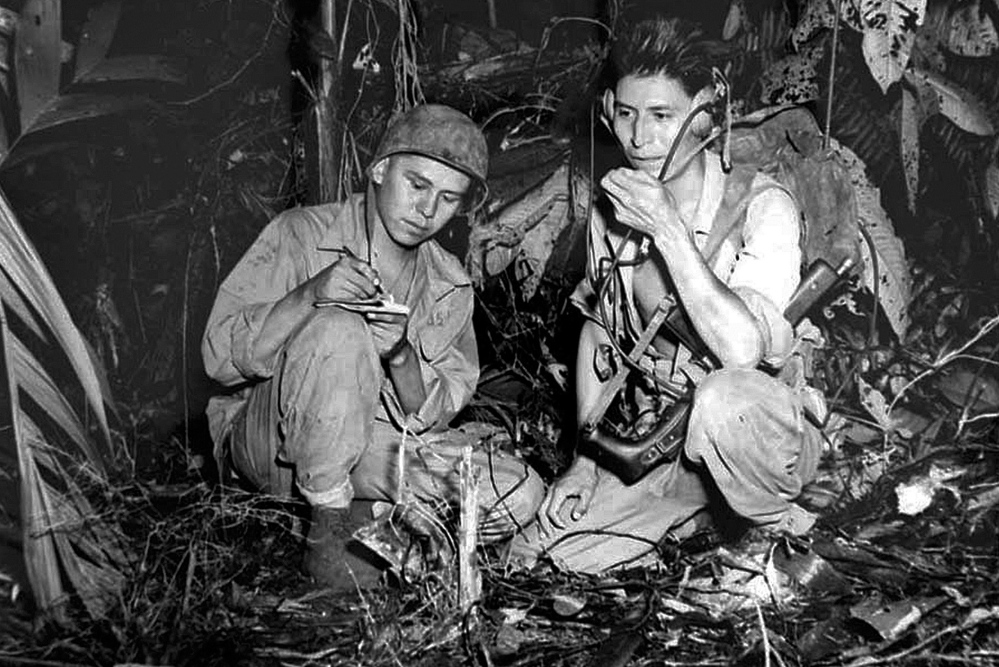 the navaho code talkers Throughout world war ii, in the conflict fought against japan, navajo code talkers were a crucial part of the us effort, sending messages back and forth in an.