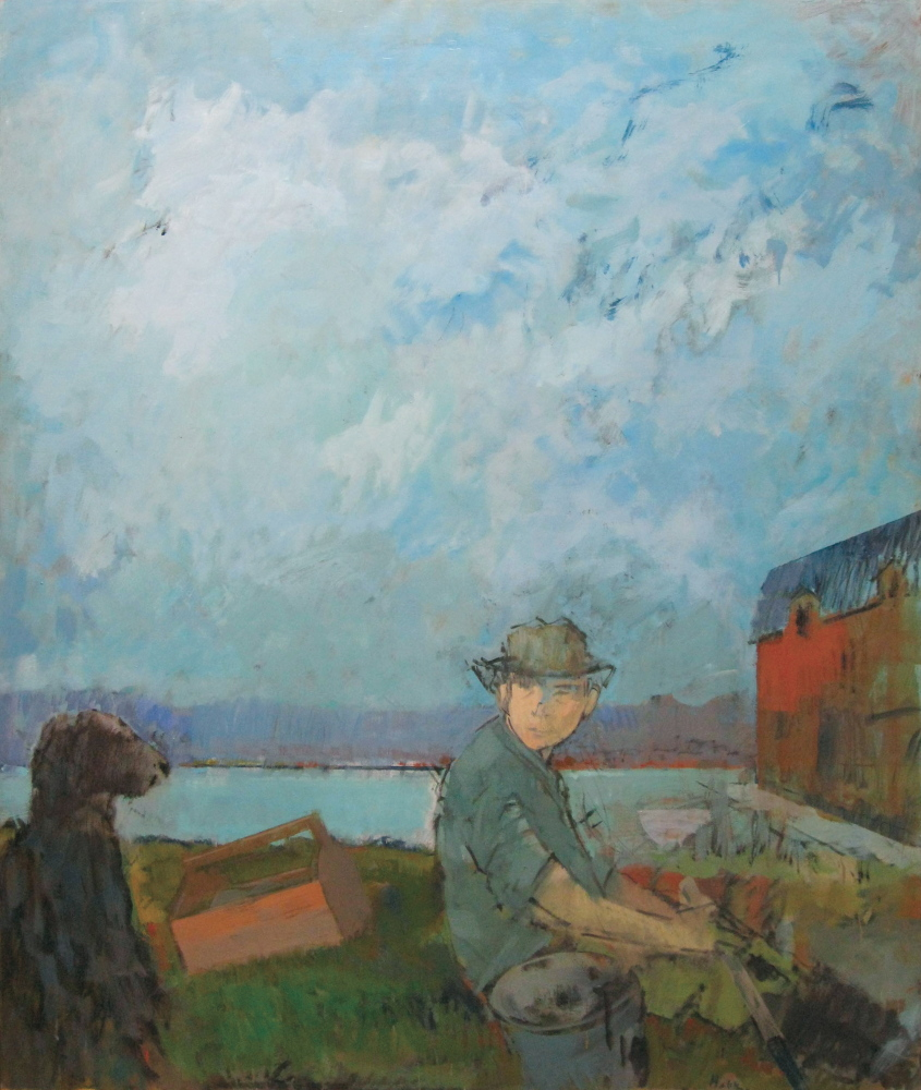 """Clamdigger with Dog,"" 1985."