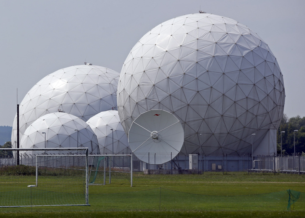 The foreign intelligence agency BND monitoring base is in Bad Aibling, near Munich, Germany.