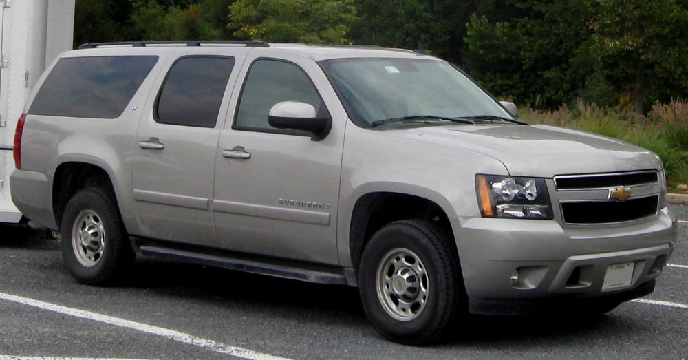 This Chevrolet Suburban LT GMT900 is similar to the one Emma Verrill of Yarmouth was riding in when its seat warmer malfunctioned and gave her third-degree burns.