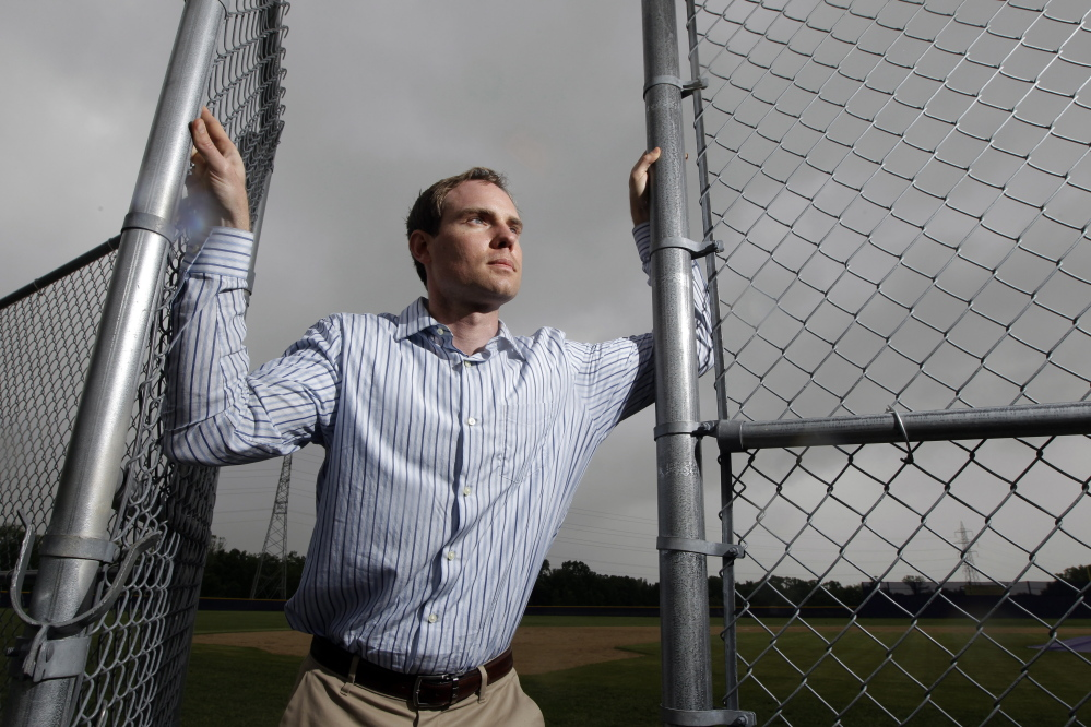 Garrett Broshuis is the driving force of a lawsuit against Major League Baseball, alleging violations of federal wage and overtime laws in a case some legal observers suggest has significant merit. The Associated Press