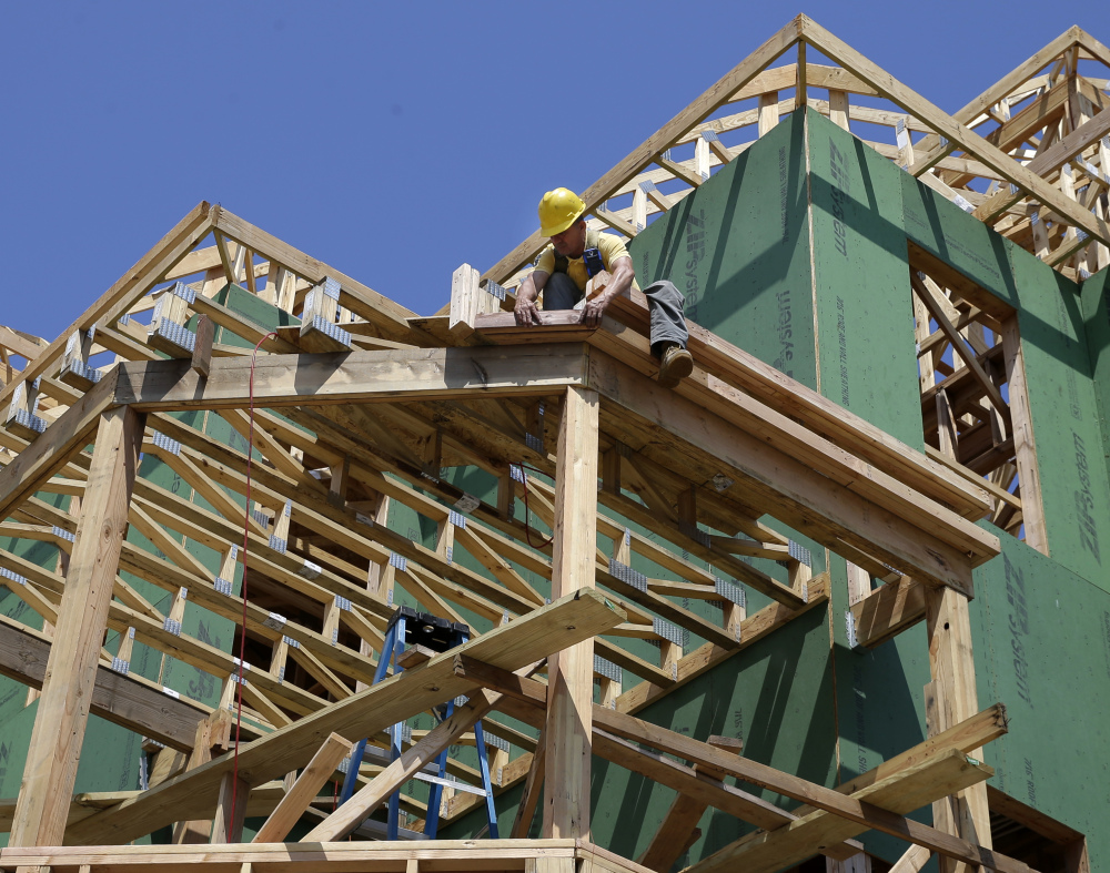U.S. home construction bounced back in July, rising to the fastest pace in eight months and offering hope that housing has regained momentum after two months of declines.
