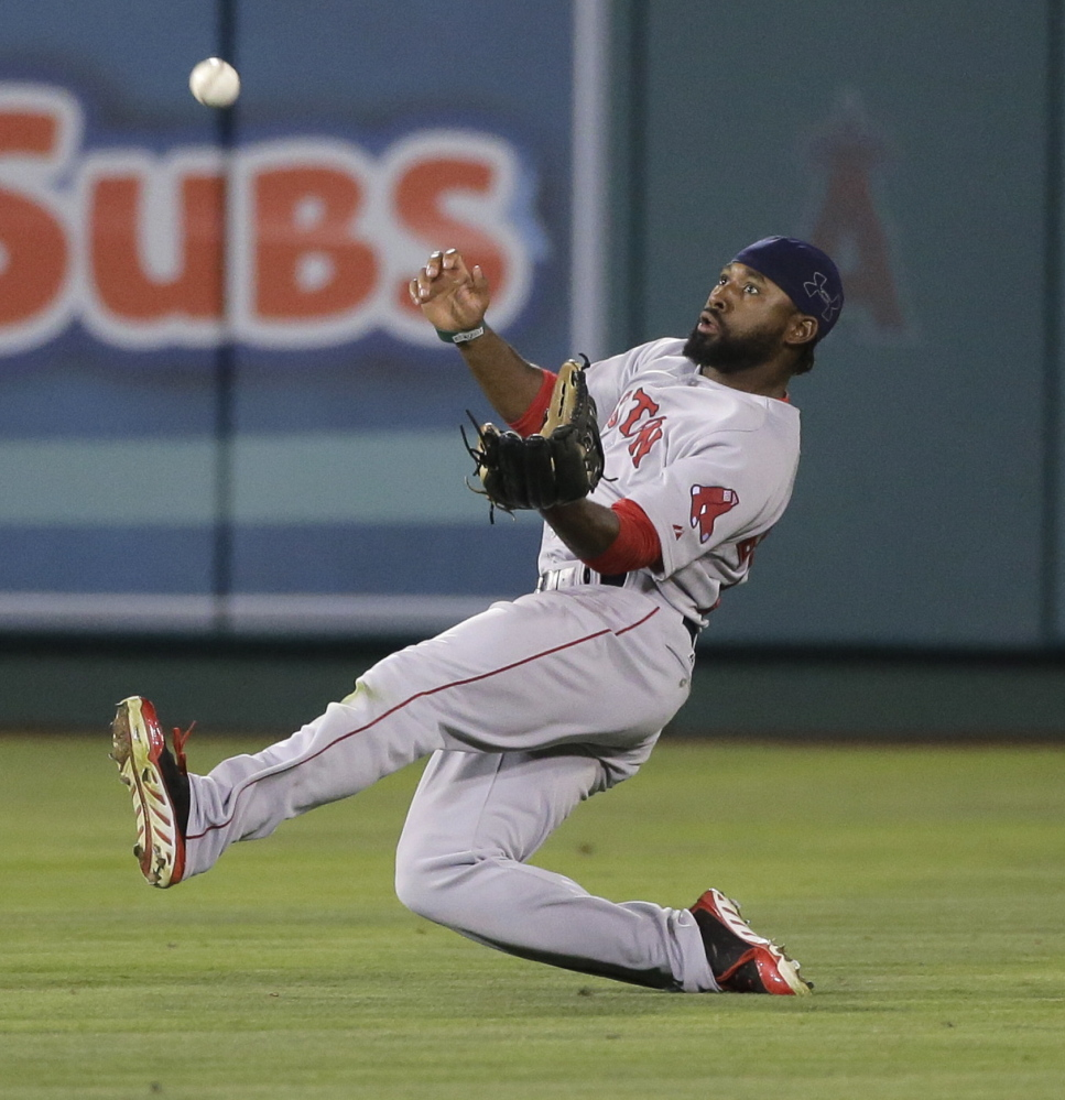 Jackie Bradley Jr.'s hitting slid so much Boston demoted him to Triple-A Pawtucket on Monday. Bradley was batting .143 in August and was not making the necessary adjustments needed to stay in the majors.